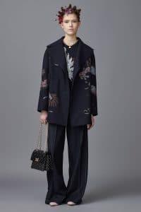 Valentino Black Studded Shoulder Bag 3 - Pre-Fall 2016