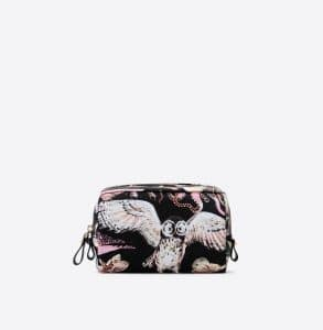 Valentino Multicolor Fantastic Animal Print Small Cosmetic Case