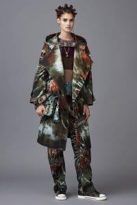 Valentino Multicolor Printed Studded Shoulder Bag - Pre-Fall 2016