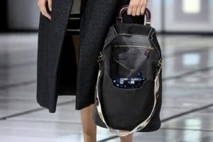 Anya Hindmarch Black Suede Embellished Orsett Tote Bag - Fall 2016