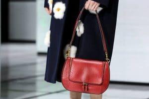 Anya Hindmarch Red Python Vere Bag - Fall 2016