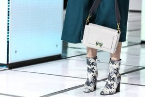 Anya Hindmarch White Flap Bag - Fall 2016
