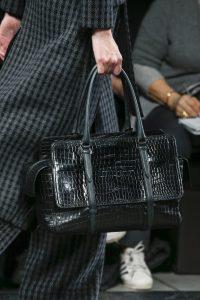 Bottega Veneta Black Crocodile Monaco Bag - Fall 2016
