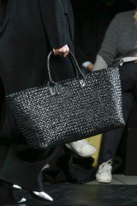 Bottega Veneta Black Intrecciato Cabat Bag 2 - Fall 2016