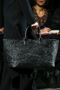 Bottega Veneta Black Intrecciato Cabat Bag - Fall 2016