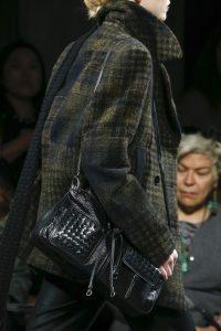 Bottega Veneta Black Intrecciato Shoulder Bag - Fall 2016