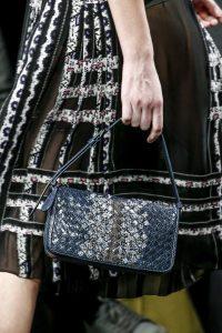 Bottega Veneta Blue Ayers Shoulder Bag - Fall 2016