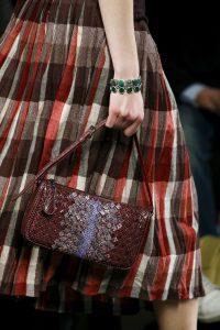 Bottega Veneta Burgundy Ayers Shoulder Bag - Fall 2016