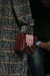 Bottega Veneta Burgundy Envelope Clutch Bag - Fall 2016