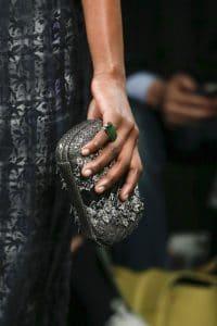 Bottega Veneta Grey Ayers Clutch Bag - Fall 2016