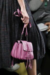 Bottega Veneta Pink Double Mini Flap Bag - Fall 2016