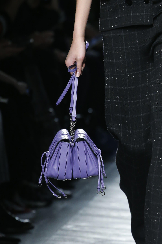 d48b3f2729 Bottega Veneta Purple Double Mini Flap Bag 2 - Fall 2016