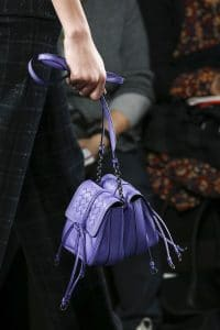 Bottega Veneta Purple Double Mini Flap Bag - Fall 2016