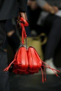 Bottega Veneta Red Double Mini Flap Bag 2 - Fall 2016