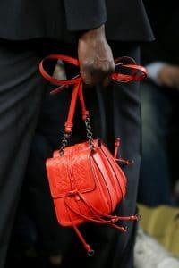 Bottega Veneta Red Double Mini Flap Bag - Fall 2016