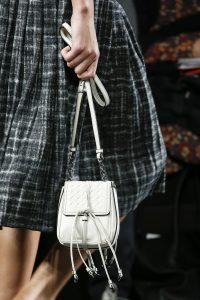 Bottega Veneta White Mini Flap Bag- Fall 2016