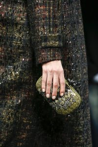 Bottega Veneta Yellow/Black Ayers Knot Clutch Bag - Fall 2016