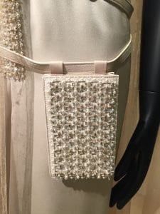 Chanel Beige Beaded Belt Bag