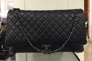 9e9cbe031d77 Chanel XXL Flap Bag From Spring/Summer 2016 Act 2 Collection ...