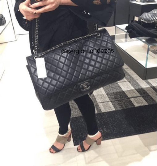 Chanel Xxl Flap Bag From Spring Summer 2016 Act 2