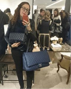 Chanel Black XXL Flap Bag 4