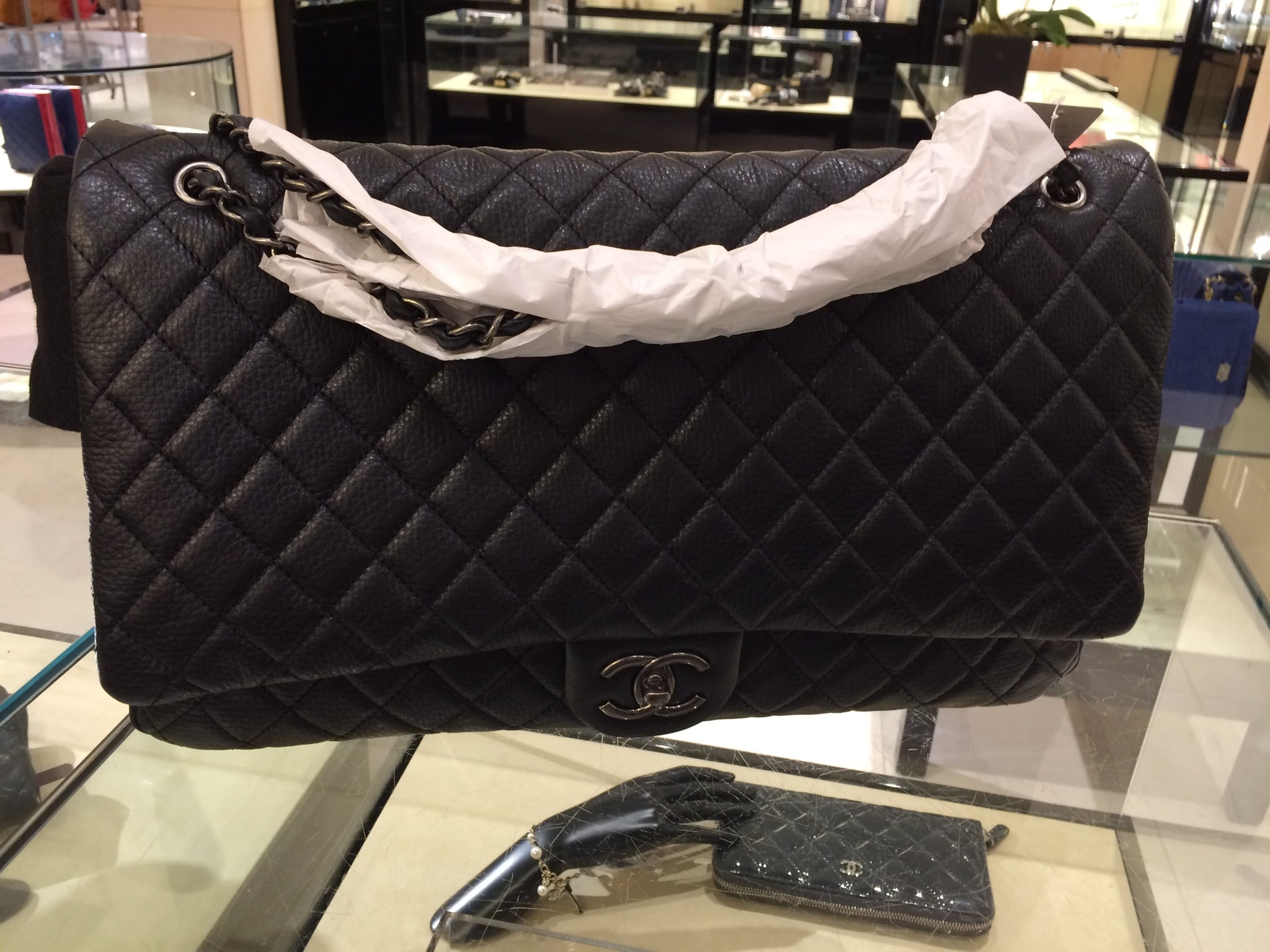 36a9f37969b4b5 Chanel XXL Flap Bag From Spring/Summer 2016 Act 2 Collection ...