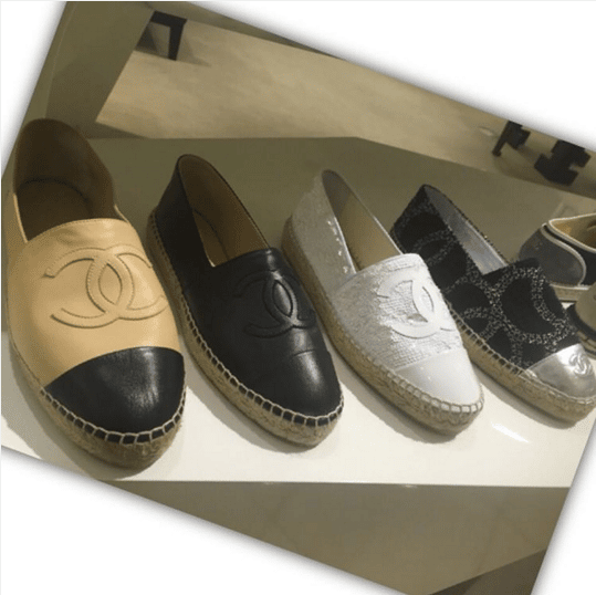 Chanel Espadrilles For Spring/Summer 2016 – Spotted Fashion