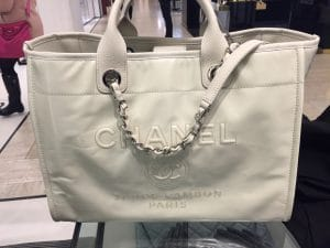 d6bbd45f0756 Chanel Leather Deauville Tote Bag Reference Guide   Spotted Fashion