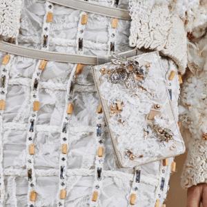 Chanel Lace Embellished Belt Bag