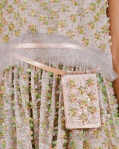 Chanel Pink Multicolor Beaded Belt Bag