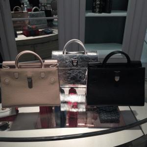 Dior Beige / Silver and Black Diorever Tote Bags