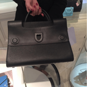 Dior Black Diorever Tote Bag 2