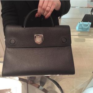 Dior Black Diorever Tote Bag 3
