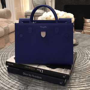 Dior Blue Diorever Tote Bag 2