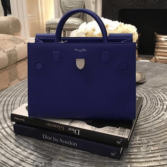 Dior Blue Diorever Tote Bag 2. IG  lux brands boutique 0ae1631fb5cc2