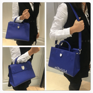 Dior Blue Diorever Tote Bag