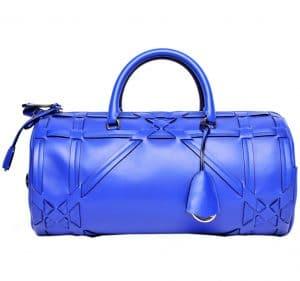 Dior Blue Duffel Bag