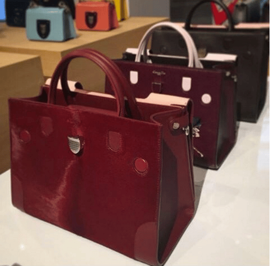 Dior Burgundy Diorever Tote Bags. IG  thecolorhunterblog 77f880c2dbe9a