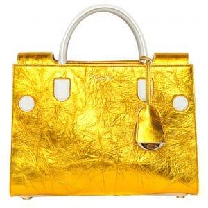 Dior Gold Diorever Tote Bag
