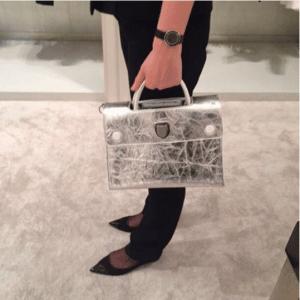 Dior Silver Diorever Tote Bag 2