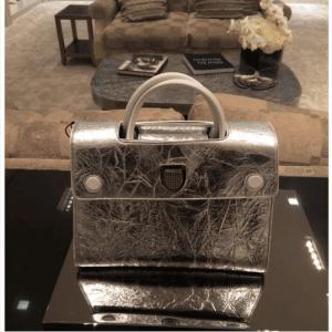 Dior Silver Diorever Tote Bag