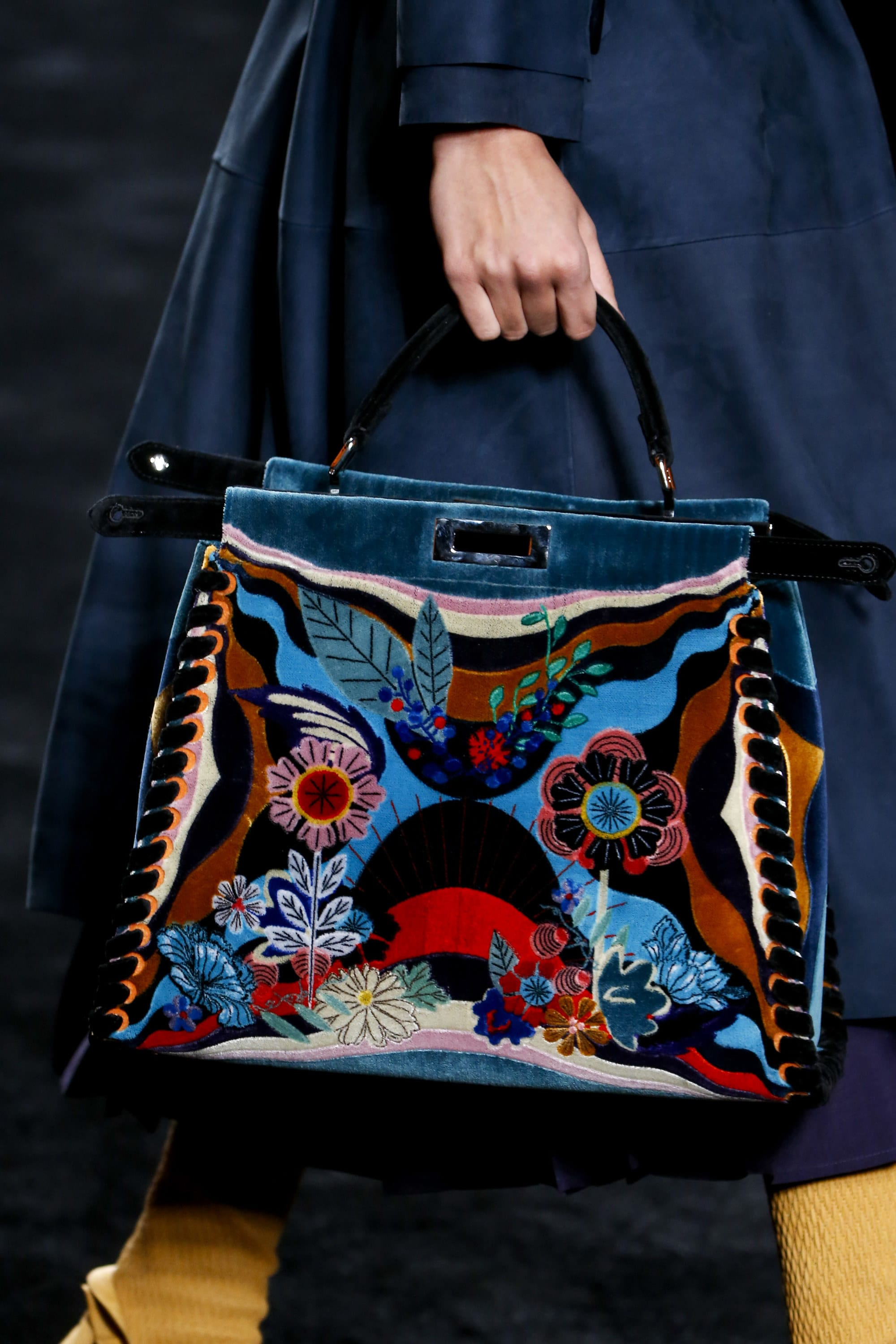 Fendi Fall Winter 2016 Runway Bag Collection Spotted Fashion