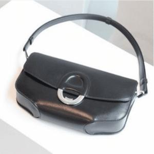 Hermes Black Cherche Midi GM Bag