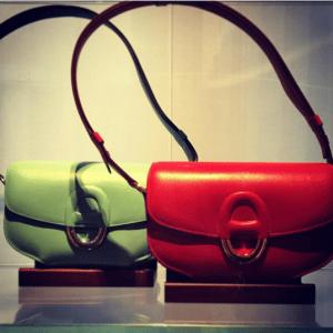Hermes Light Green and Cherche Midi PM Bags