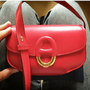Hermes Red Cherche Midi PM Bag 2