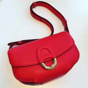 Hermes Red Cherche Midi PM Bag