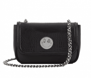 Hill and Friend Black Happy Chain Medium Bag