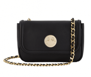 Hill and Friend Liquorice Black Happy Chain Medium Bag