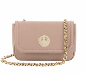 Hill and Friend Nude Happy Chain Medium Bag