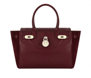 Hill and Friend Oxblood Happy Bag